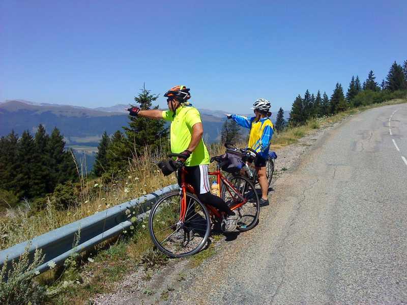 Les alentours du camping Au Pré du Lac sont parfait pour une ballade à vélo