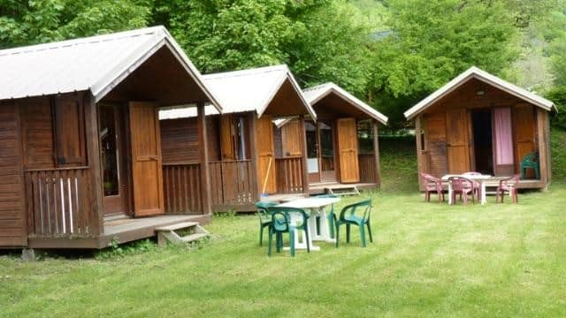 Chalets d'une location a Grenoble