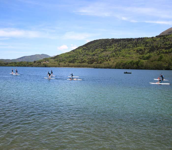 Base nautique de Cholonge proche du camping en Isere