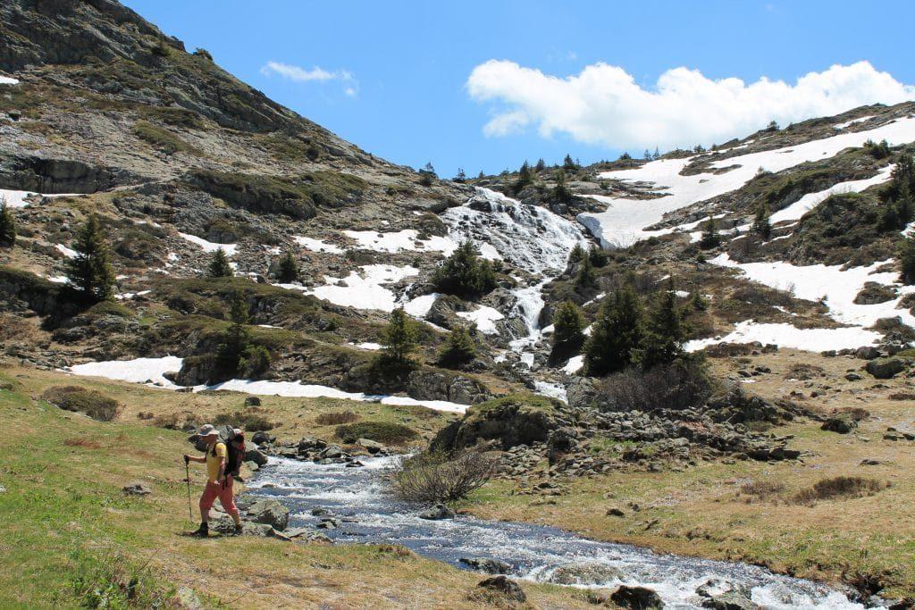Le camping en montagne alpe