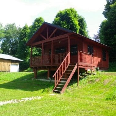 Chalet du camping a Grenoble