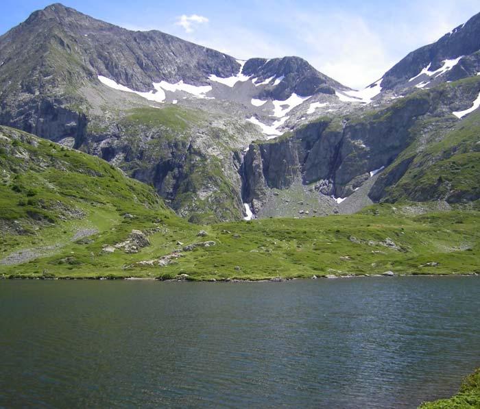 Lac Fourchu proche du camping lac de Laffrey