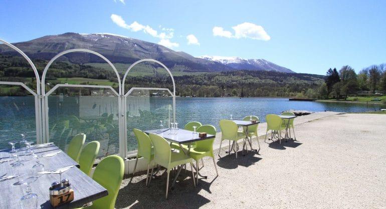 Restaurant d'une location de gite a Grenoble