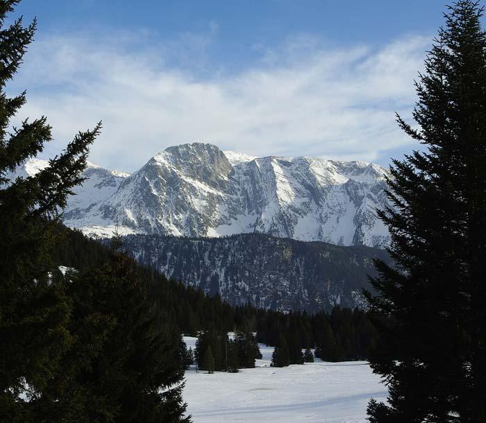 Station de ski a Chamrousse au camping en Isere